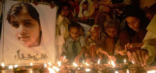 Malala Yousafzai vigil.